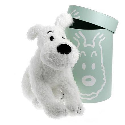 Mjukdjur - Milou lealös och poserbar 37 cm - Tintin  5eb04b62776bf