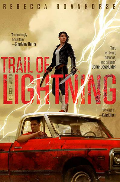 Image result for trail of lightning by rebecca roanhorse