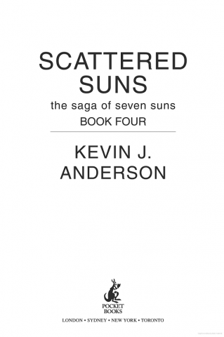 Scattered Suns Kevin J Anderson Del 4 I The Saga Of The Seven