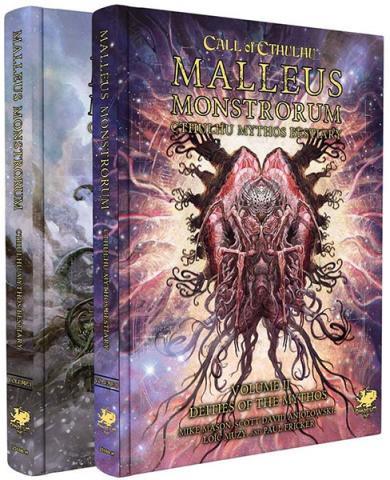 Malleus Monstrorum - Cthulhu Mythos Bestiary Slipcase Set