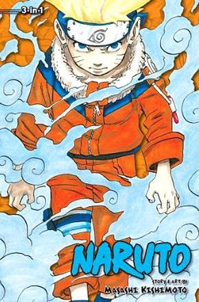 Naruto 3-in-1 Vol 1