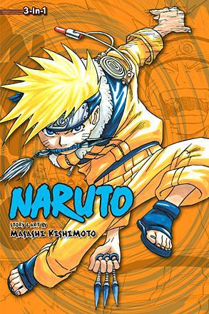 Naruto 3-in-1 Vol 2
