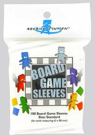 Boardgame Sleeves Standard Clear (63*88mm)