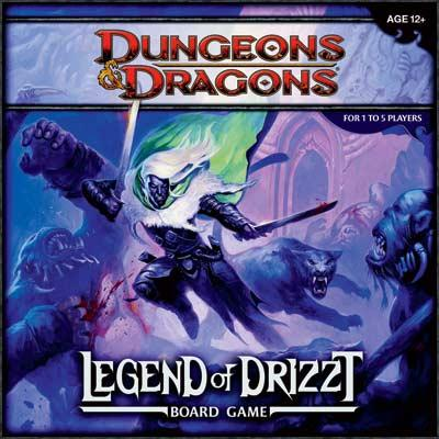 Dungeons & Dragons - Legend of Drizzt Boardgame