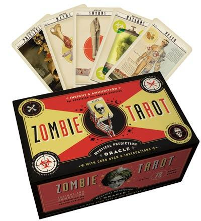 The Zombie Tarot: Oracle of the Undead with Deck and Instructions