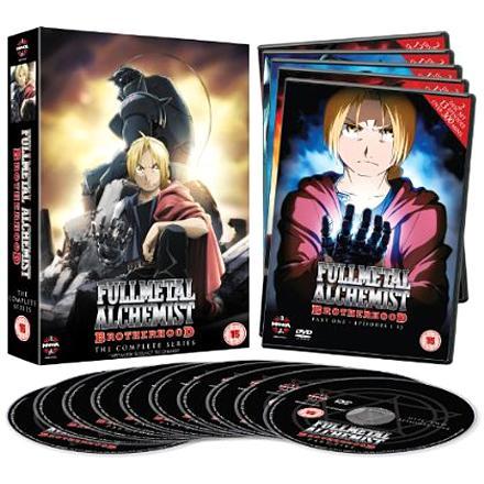 Fullmetal Alchemist Brotherhood, The Complete Series