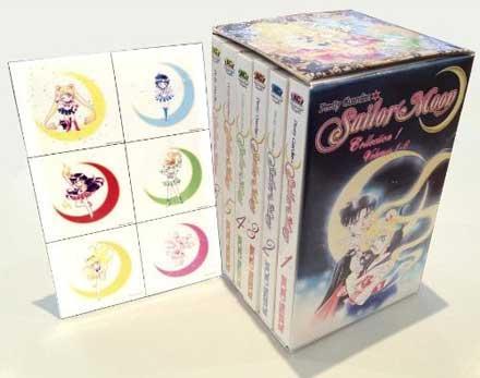 Sailor Moon Vol 1-6 box set