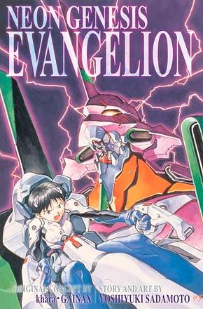 Neon Genesis Evangelion 3-in-1 Vol 1