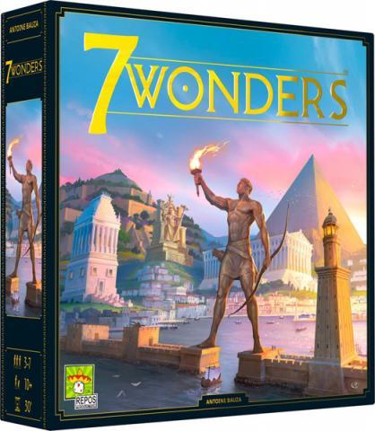 7 Wonders Grundspelet (Skandinavisk Utgåva)