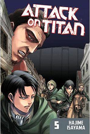 Attack on Titan vol 5