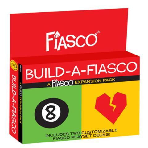 Fiasco (Revised) RPG - Build a Fiasco Expansion Pack