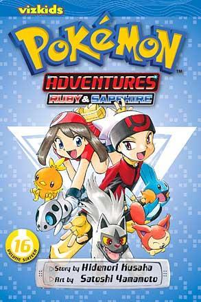 Pokemon Adventures Vol 16