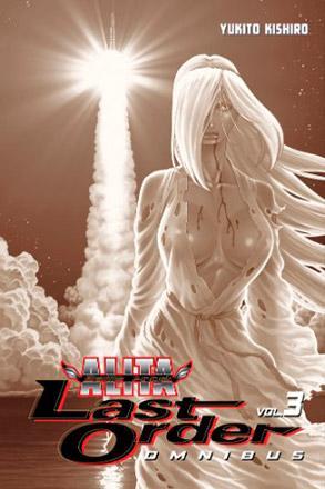 Battle Angel Alita Last Order Omnibus 3