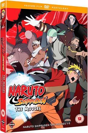 Naruto Shippuden: The Movies 1-5