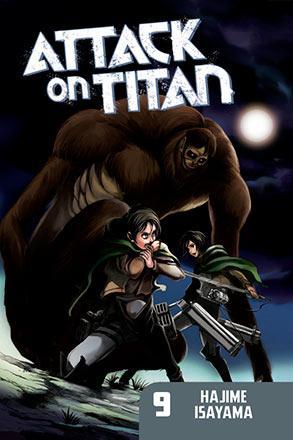 Attack on Titan vol 9