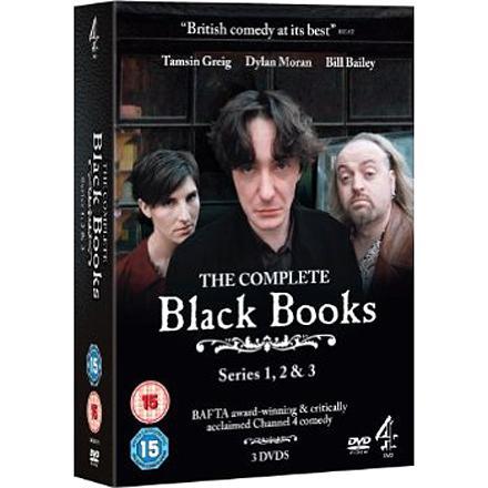 Black Books 1-3 complete series box set