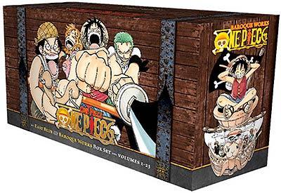 One Piece Box Set 1: East Blue + Baroque Works, Vol 1-23
