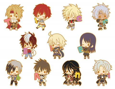 Rubber Strap Collection Tales Of Series 25th Anniversary Vol 1