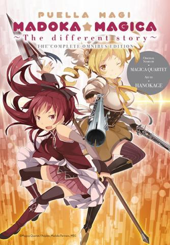 Puella Magi Madoka Magica The Different Complete Omnibus Edition