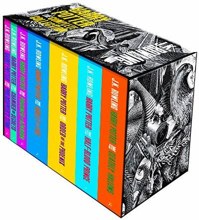 Harry Potter Boxed Set Vol 1-7 Adult Edition
