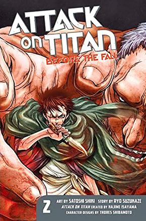 Attack on Titan Before the Fall 2