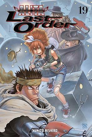 Battle Angel Alita Last Order Vol 19