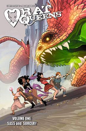 Rat Queens Vol 1: Sass & Sorcery