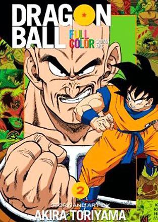 Dragonball Full Color Saiyan Arc Vol 2