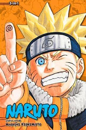Naruto 3-in-1 Vol 8