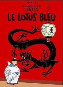 Affisch - Le Lotus Bleu