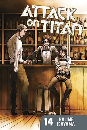 Attack on Titan vol 14
