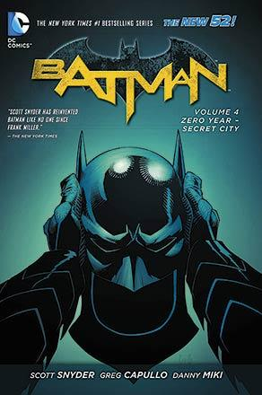 Batman Vol 4: Zero Year-Secret City