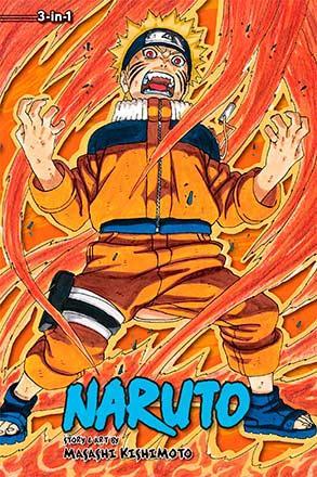 Naruto 3-in-1 Vol 9