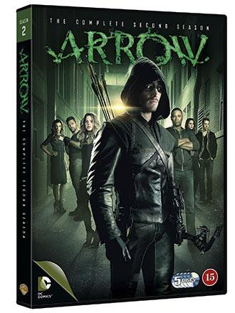 Arrow, The Complete Second Season