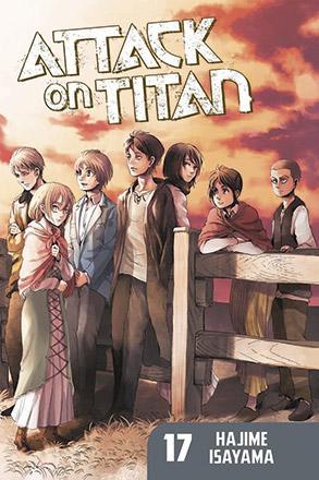 Attack on Titan vol 17