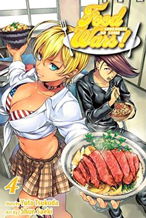 Food Wars Vol 4
