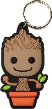 Guardians of the Galaxy Baby Groot Rubber Keychain