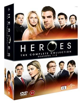 Heroes: The Complete Collection, Seasons 1-4