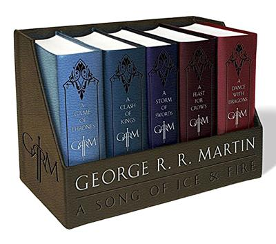 A Song of Ice and Fire Leather Cloth Boxed Set