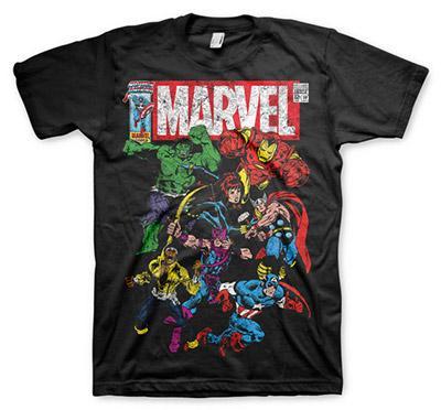 Marvel Comics Team-Up Black