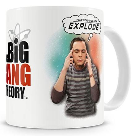 The Big Bang Theory Your Head Will Now Explode Coffee Mug