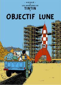 Affisch - Objectif Lune