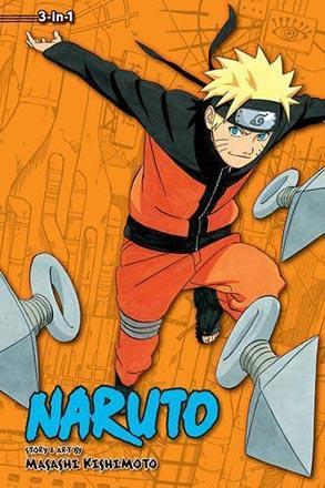 Naruto 3-in-1 Vol 12