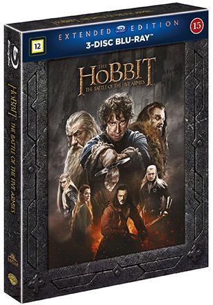 Hobbit: Femhäraslaget, Extended Edition