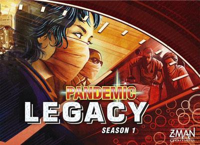 Pandemic Legacy Season 1 - Red