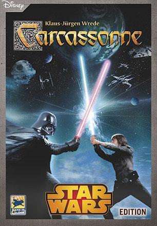 Carcassonne Star Wars (Engelsk utgåva)