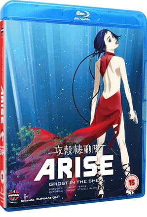 Ghost in the Shell Arise: Borders Parts 3 & 4