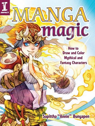 Manga Magic: How to Drawn and Paint Mythical and Fantasy Characters