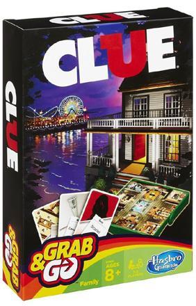 Cluedo Grab & Go (svensk utgåva)