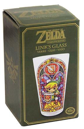Legend of Zelda Wind Waker Pint Glass Link